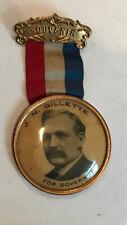 1906 California Governor James N Gillette souvenir ribbon
