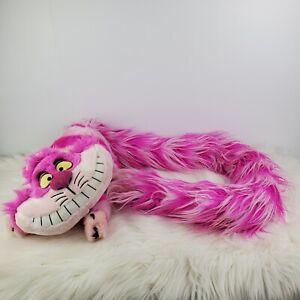 "Disney Parks Cheshire Cat Pink Long Fluffy Boa Tail Plush 56"""