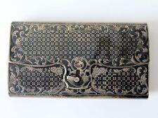Seltene Russisches Zigarrenetui / 84 Silber/ Ivan Vasilyevich Avdeyev von 1860
