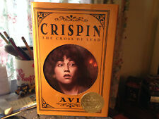 CRISPIN: The Cross of Lead by Avi (2002, Hardcover)
