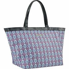 Tommy Bahama Honolulu Collection Diamond Tile Large Footed Tote Bag