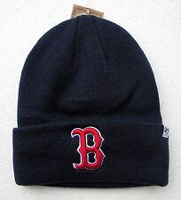 Boston Red Sox Darker Blue Cuffed Beanie Winter Cap Hat Authentic 47 Brand