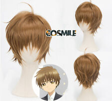 Card Captor Sakura CLEAR CARD Li Syaoran Cosplay Hair Wig Cos Anime New