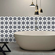 3D Tile Stickers for Living Room Kitchen Bathroom Wall Floor Decorative 6 Styles