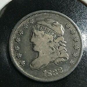 1832 BUST HALF DIME SILVER SCARCE COIN