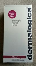 dermalogica overnight retinol repair, 30ml with buffer cream, age smart