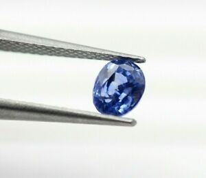 Natural Loose Sapphire 0.83 Ct Royal Blue Color Oval Mix Cut Sri Lanka Gem