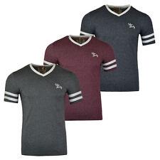 New Mens Tokyo Laundry Beaver Lake V Neck T-Shirt  Size S-XXL