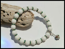 Silver Plated Jade Stone Handcrafted Jewellery