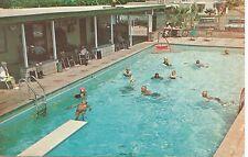 Desert Hot Springs CA Healing Waters Trailer Village Postcard 1950s