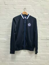 Chelsea FC Official Men's Club Track Jacket - Large - Navy - New