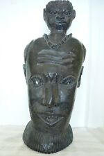 Antique/Vintage African Carved Mask French/Belgian/Dutch Colonies?