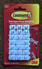 Decorating Clips with Damage 3m Command Strips Water Resistant