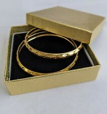 22k Gold Plated Indian Bangle Set (2pcs)