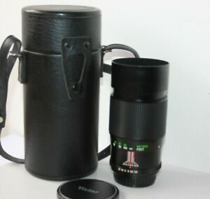 "Vivitar 200mm f3.5 Telephoto Manual Prime Lens.Pentax K "" PK "" Mount. K1000,ME"