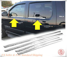 Stainless Steel Chrome Window sill Trim For 2007-2014 Chevrolet Tahoe/Suburban