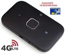 HUAWEI E5573 4G LTE 3G Cat4 Mobile WiFi Wireless Hotspot Router Modem ORIGINAL