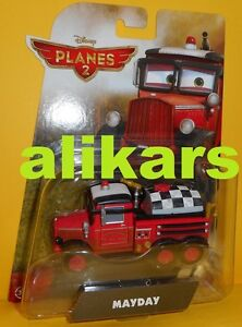 MAYDAY Red Fire Truck Disney Planes 2 Mattel Aereo scala 1:55 Cars Fire & Rescue