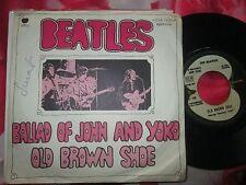 The Beatles The Ballad Of John And Yoko / Old Brown Shoe 7inch Vinyl 45 Single