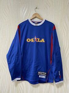 LOS ANGELS LAKERS BASKETBALL SWEATSHIRT REEBOK NBA ALL STARS GAMES 2004 sz M MEN