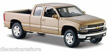 Maisto 1999 Chevy Silverado Pick Up Gold 1/27 Diecast NEW WITHOUT BOX 34941