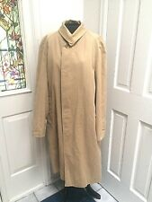 Rare Genuine Pre-1999 Vintage Burberrys Hidden Buttons Women's Trench Coat