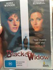Black Widow NEW & sealed region 4 DVD (1987 Debra Winger thriller movie) RARE