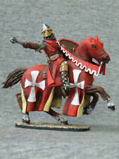 Horse Hospitaller. Shcherbakov Souvenir painting tin soldiers. SCALE 1/32 54 mm