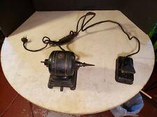 Antique Fidelity Electric Co. Lancaster Pa Motor Reversing w Foot Switch - Fan