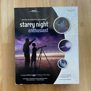 Starry Night Enthusiast Space & Astronomy CD-ROM & DVD For Windows / Mac SEALED
