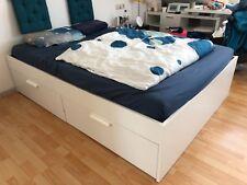 Brimnes Bettgestell von Ikea, 140x200, ohne Matratze, ohne Lattenrost, Gebraucht
