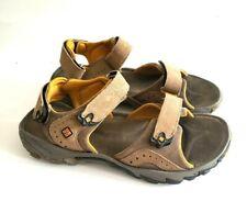 Columbia Men's Size 9 Kanapali Sandals Tan And Yellow Vibram Soles Hiking Sport