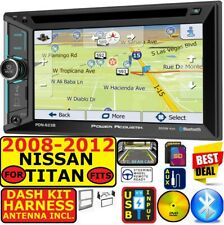 FITS/FOR NISSAN CD/DVD GPS NAVIGATION SYSTEM BLUETOOTH USB/SD CAR RADIO STEREO