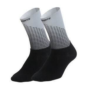 Pro Mens Womens Cycling Sports Ankle Socks XC Riding Bicycle Breathable Socks