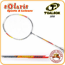TOALSON CHROME N POWER 9500 Full High Modulus Graphite Badminton Racket Strung