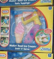 LITTLE TIKES MAKIN REAL ICE CREAM  SWIRL n SERVE ICE CREAM GUN