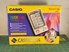 Casio Cassiopeia E-100 Microsoft Windows Powered Pocket PC UMPC PDA