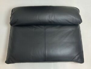 Ikea LIDHULT Backrest Seat Cushion Leather Replacement Slipcover Cover Black