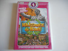 JEU PC CD-ROM - NAISSANCE DE ROME