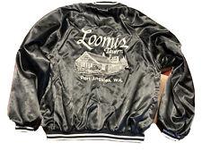 Vintage Loomis Tavern Jacket Xl