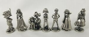 2001 Monopoly Disney Edition Replacement Pieces 7 Player Tokens