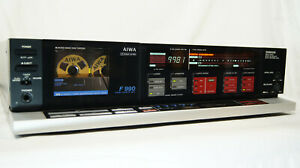 AIWA AD-F990 3head cassette deck Dolby B.C HxPro auto demag serviced, *Read*