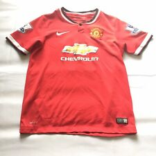 Nike Manchester United Club Authenticated Jersey Rooney Youth Large Football