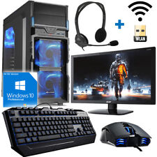 Gamer PC Komplett-Set AMD FX 8350 8 X 4,2GHz Nvidia GTX1050 Ti 4GB OC Gaming!