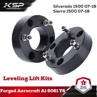2'' In Front Leveling Lift Kit Strut Spacer 07-20 Silverado Sierra 1500 2WD/4WD