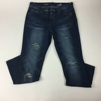 J.Crew Jeans Size 29 Broken In Boyfriend Distressed Blue Denim Womens