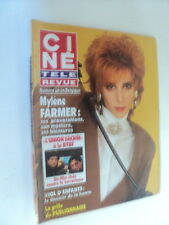 CINE REVUE 91/22 (30/5/91) MYLENE FARMER BRUEL RICHARD BERRY ELSA BOWIE DENEUVE