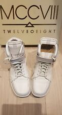 MCCV111 Gold Plated White Sneakers Size 12 Limited Edition