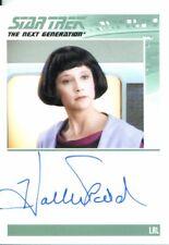 Star Trek The Complete Next Generation Series 2 Autograph Hallie Todd