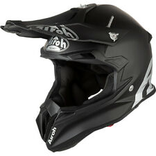 AIROH TERMINATOR 2.1 OPEN VISION MATT BLACK HELMET Size Medium Motocross MX